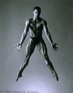 Chhhhhh...the power radiating off his body, thru this pic...only dance i tell you! Only dance