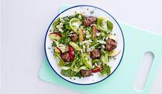 Bønnesalat med spicy kødboller - aftensmad på 20 minutter | I FORM