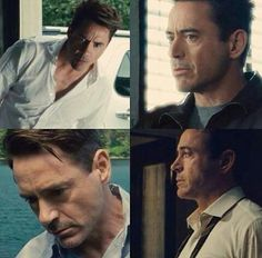 Robert Downey Jr. in his coming movie The Judge