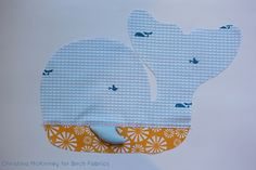 Free Pattern | Whale Of A Time Plushie | by Christina McKinney
