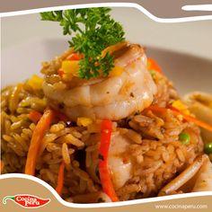 Un delicioso Arroz con Mariscos para el almuerzo de hoy, aprende a prepararlo ingresando aquí: http://www.cocinaperu.com/platos-de-fondo/arroz-con-mariscos
