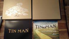 Sci Fi Miniseries TIN MAN Board Game Wizard of Oz Promo 2 CDs Press Kit Complete