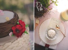 Cardinal themed wedding / Bit of Ivory Photography