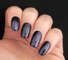 Polish Alcoholic Andromeda Galaxy | Squeaky Nails http://www.squeakynails.com/2015/04/swatch-polish-alcoholic-andromeda-galaxy.html