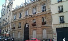 Hôtel Rousseau (XIXe) 66, rue de La Rochefoucauld Paris 75009.