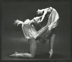 Gelsey Kirkland and Ivan Nagy in Romeo and Juliet. Photo by Max Waldman.
