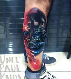 Darth Vader Star Wars Tattoo by Uncl Paul Knows