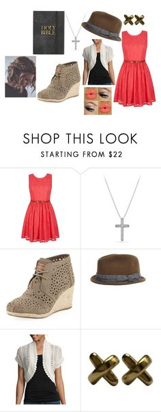 """""""Take me to church"""" by kchest ❤ liked on Polyvore featuring beauty, Yumi, David Yurman, TOMS, rag & bone, Perceptions and Tiffany & Co."""