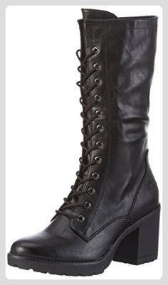 7081b8ad5f7d Marco Tozzi Damen 25235 Combat Boots, Schwarz (Black Antic 002), 38 EU