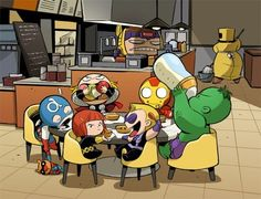 avengers mavel funny   art funny iron man comics Captain America Thor Marvel avengers ...