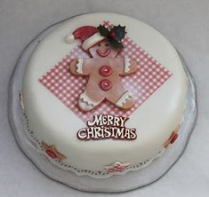 I have just finished decorating my Christmas cake and overall I am quite pleased with the finished look. I bought a ready made un-iced fr. Christmas Cake Designs, Christmas Cake Decorations, Holiday Cakes, Christmas Desserts, Christmas Treats, Christmas Baking, Christmas Cakes, Xmas Cakes, Beautiful Cakes