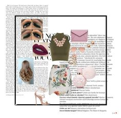 """Flowery Feels"" by afbdzjm ❤ liked on Polyvore featuring Balmain, WearAll, Topshop, Ray-Ban, Rebecca Minkoff, River Island, Accessorize and Dsquared2"