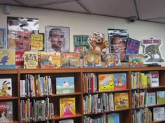 Watch. Connect. Read.: An awesome library blog by Mr. Schu! Cool ideas and displays, too!