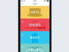 Shop 360 Immersive Mobile E-Commerce App | Motion Graphics in Flat UI Design
