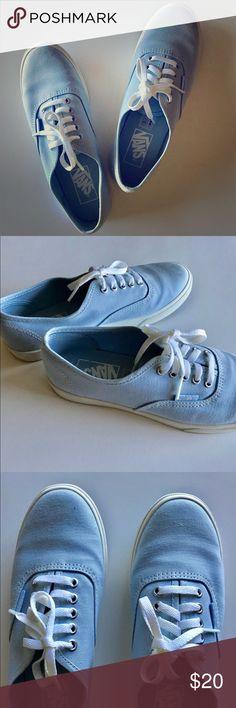 6e0e7539e0 Vans Women s 6.5 Authentic Lo Pro Light Blue Vans Authentic Lo Pro shoes   Women s 6.5