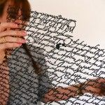 New Cut Paper Correspondence by Annie Vought