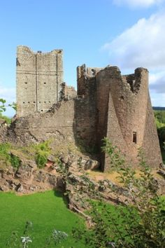 Norman Goodrich Castle, Herefordshire, UK