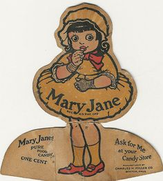 Mary Jane candy girl!