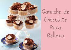 Ganache de Chocolate para Relleno de Tartas  y Decoración de Cupcakes