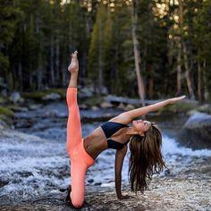 gate pose variation | yoga