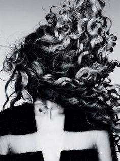 "Magdalena Frackowiak in ""Wilde Wellen / Wild Waves"" for Vogue Germany, 2011 by Ben Hassett"