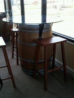 Wine barrels upcycle