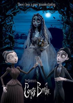 Like Movies and Stuff: Tim Burton's Corpse Bride