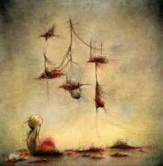 Paintings by Jeannie Lynn Paske: Obsolete World
