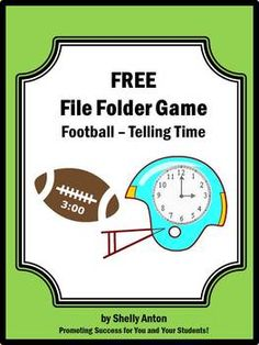 Promoting Success: Telling Time Printable Games, Activities and Songs for First, Second and Third Grade