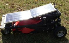 DIY Solar-Powered, RC Lawn Mower: Cut Your Grass Without Ever Leaving the Couch! « Mad Science