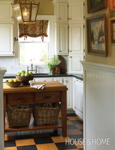 Traditional Country Kitchen | House & Home