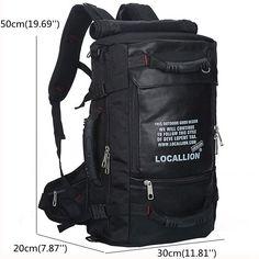 Swedish Dala Horse Folk Multifunctional Bundle Backpack Shoulder Bag For Men And Women