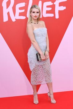 Lottie Moss Design: Ermanno Scervino