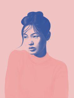 Portraits 2016 on Behance