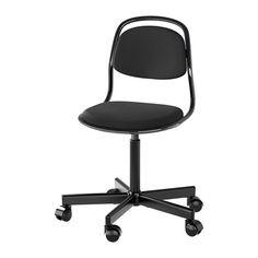 IKEA - ÖRFJÄLL, 子供用チェア, , 高品質の高密度フォームを使用。長く使っても座り心地が変わりませんシートの高さを調節できます