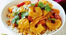For a quick weeknight meal, try this easy seafood curry made with coconut milk, sweet potato and lime.