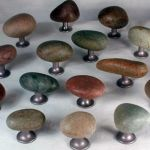 Stone Bathroom and Kitchen Cabinet Knobs