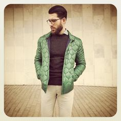 bcnpreppy:    Green quilted jacket by @carlos_domord | #preppy #preppystyle #bcnpreppy #pijo #espreppy #ep #quilted #jacket #sweater #shirt #pants #beard #fashion #man #menstyle #menswear #mensfashion #moda #gq #ootd #luxury #spain #style #instafashion #instapreppy #fashionista #fashionblogger #blogger (en Barcelona Spain)