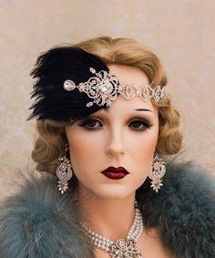 Brown 20/'s Flirty Flapper Wig Wavy Curls Chicago Roaring Gatsby Cabaret Jazz
