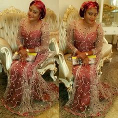 Fabulously Gorgeous Aso-Ebi Styles - Wedding Digest NaijaWedding Digest Naija