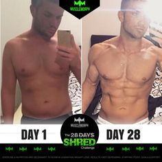 Get Ripped Abs and Shredded Muscles with Cutting Stack from Crazy Mass that consists of 4 Legal Steroids and Has Zero Side Effects! Shred Workout, Ripped Workout, Six Pack Abs Workout, Workout Routine For Men, Gym Workout Videos, Fun Workouts, 28 Day Shred, Ab Transformation, Shredded Body