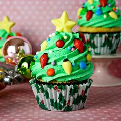 Image for Christmas Tree Cupcakes