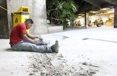 GDC continúa recuperación de espacios en parque central • Gobierno del Distrito Capital