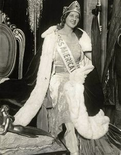 Norma Smallwood, Tulsa Oklahoma, 1926, 6th winner of Miss America Contest