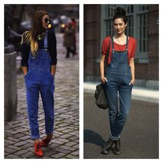 overall's.... I've always had a thing for them ever since my eggplant gap pair I had when I was 10!