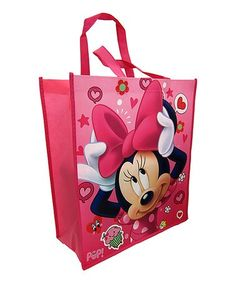 Loving this Minnie Mouse Shopper Tote on  zulily!  zulilyfinds String Bag,  Shoes ebbaac0a23