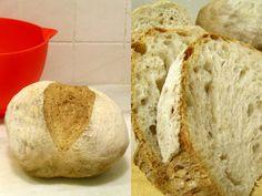 como hacer pan con masa madre https://www.pinterest.com/pilar6373/reposter%C3%ADa-y-panes/