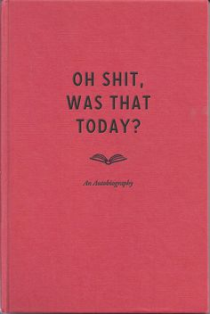 What would be a cool title for a autobiographical essay about...?