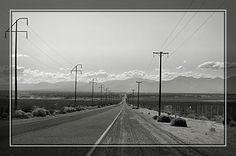 Road to Trona, California.