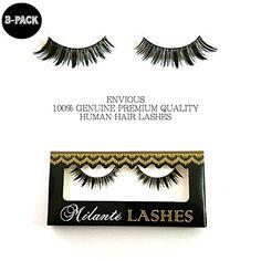$22 Milanté BEAUTY 3 Pack Envious False Lashes Black Natural Thick Long Full Reusable Fake Eyelashes #milantebeauty